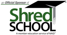 UltraShred is an official sponsor of Shred School, a member education service of NAID